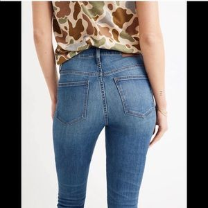 Madewell Jeans High Rise Skinny Crop